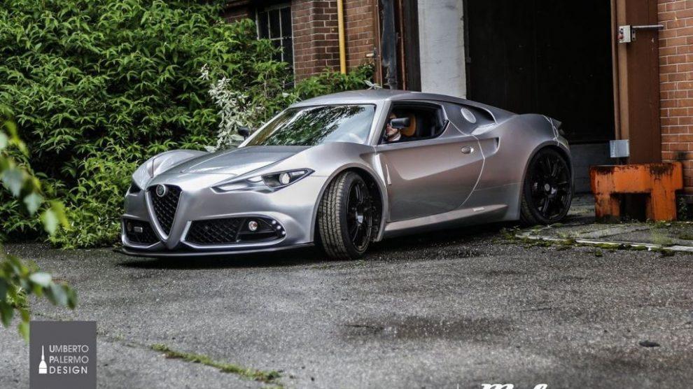 Mole Costruzione Artigianale 001 : Alfa Romeo 4C
