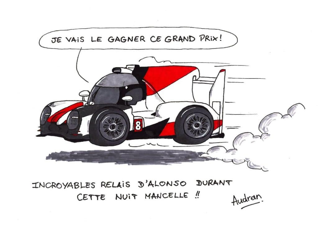 Audran Lernoux - Alonso Le Mans 2018