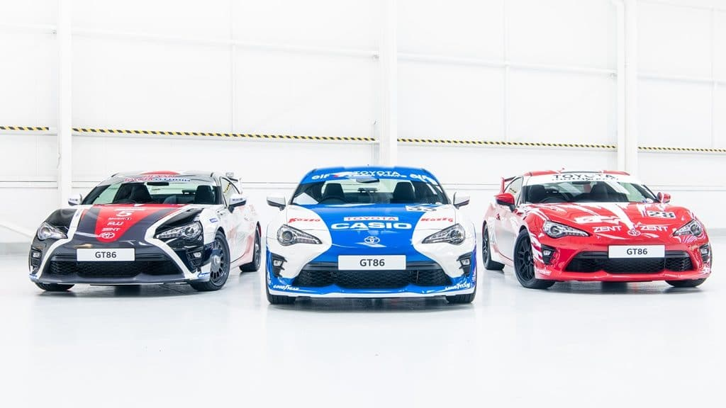 Toyota GT86 Le Mans edition 86Th