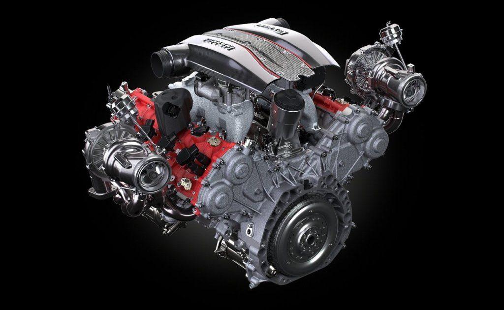 Ferrari V8 3.9L biturbo