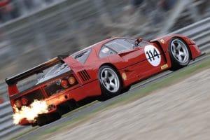 Le Mans Classic 2018 : Global Endurance Legends - Ferrari F40 LM 1989
