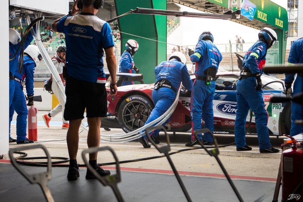 24 Heures du Mans 2018 - Journée test stand Ford - Jordan Prot