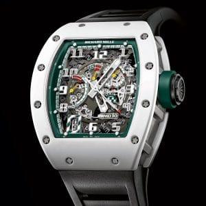 Richard Mille RM 030 Le Mans Classic 2014 - en céramique ATZ blanche et carbone NTPT - 100 pièces