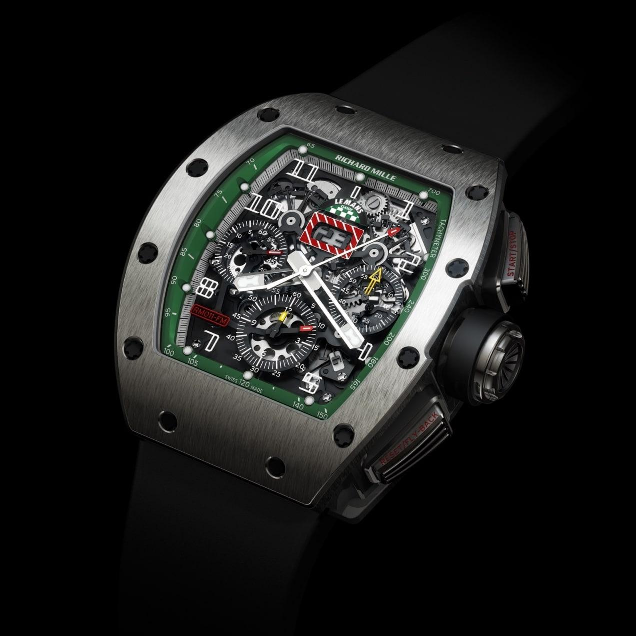 Richard Mille RM 011 Le Mans Classic 2008 – en titane ou or rouge et titane – 200 pièces