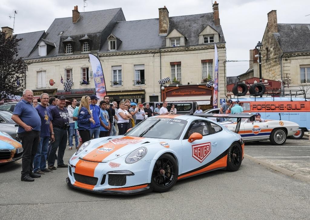TAG Heuer Edition Spéciale Gulf 50th 24H du Mans 2018-2