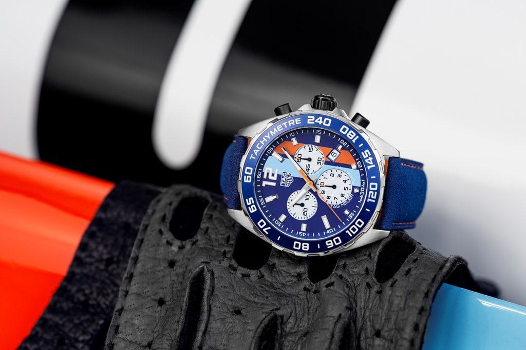 TAG Heuer Formula 1 Edition Spéciale Gulf 50th 24H du Mans 2018