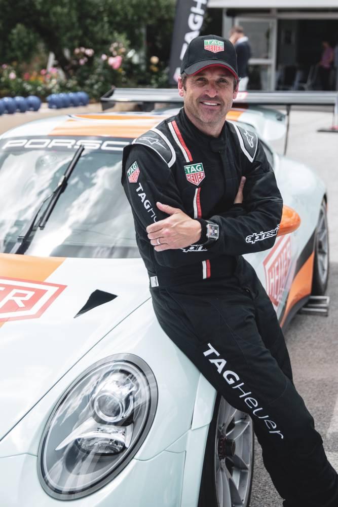 TAG Heuer Spéciale Gulf 50th 24H du Mans 2018 - Patrick Dempsey
