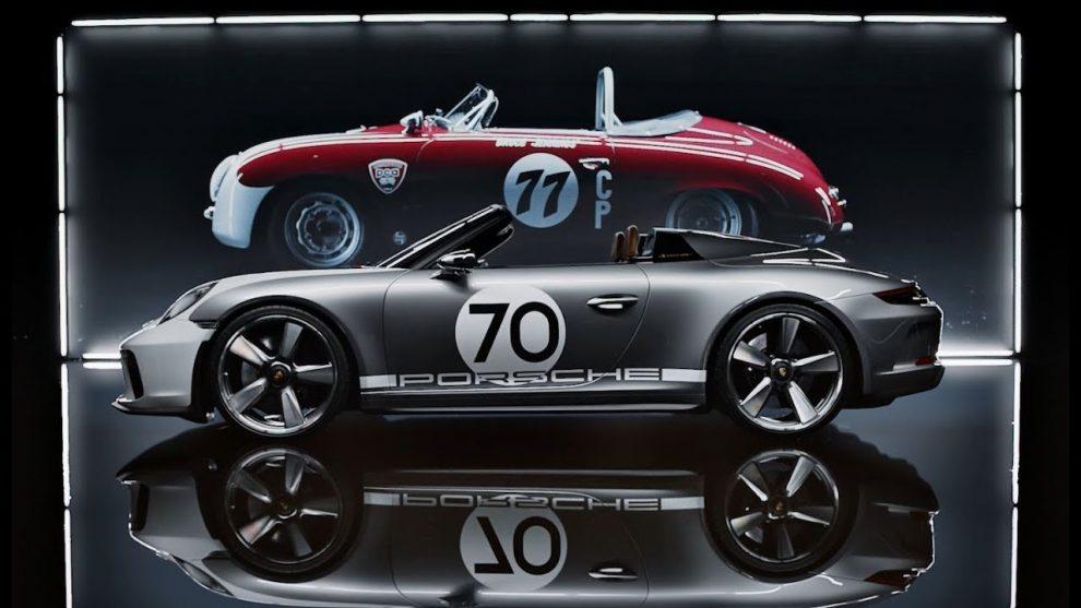 Concept 911 Speedster Aux Origines De Porsche