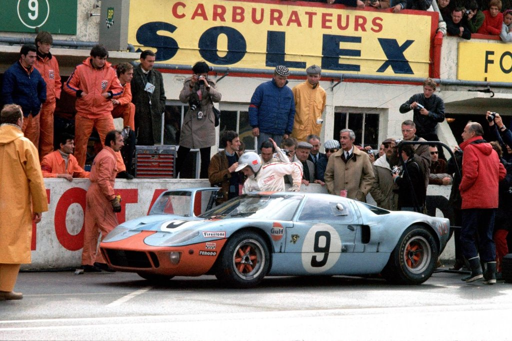 Ford GT40 Le Mans 1968 – Lucien Bianchi