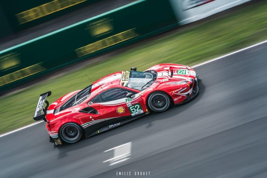 Ferrari 488 GTE Evo 24H du Mans 2018