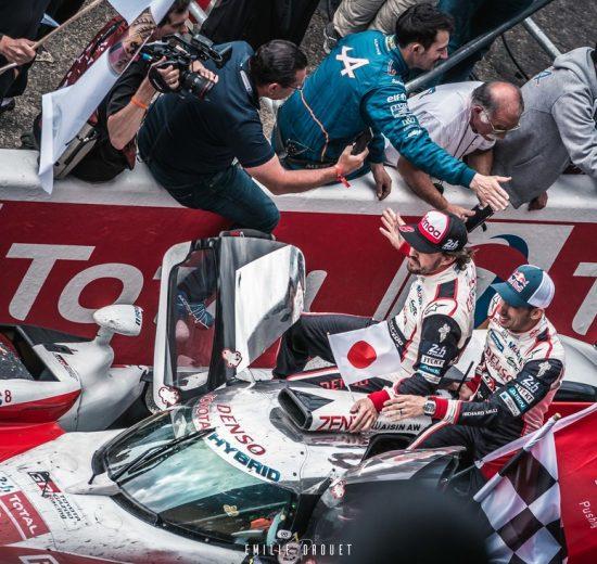 Toyota TS050 24H du Mans 2018