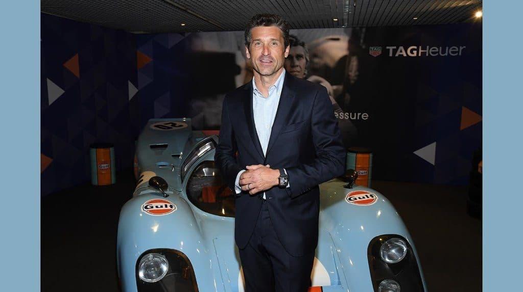 TAG Heuer - Patrick Dempsey Monaco Gulf 50th anniversary