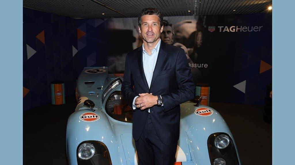 TAG Heuer – Patrick Dempsey Monaco Gulf 50th anniversary