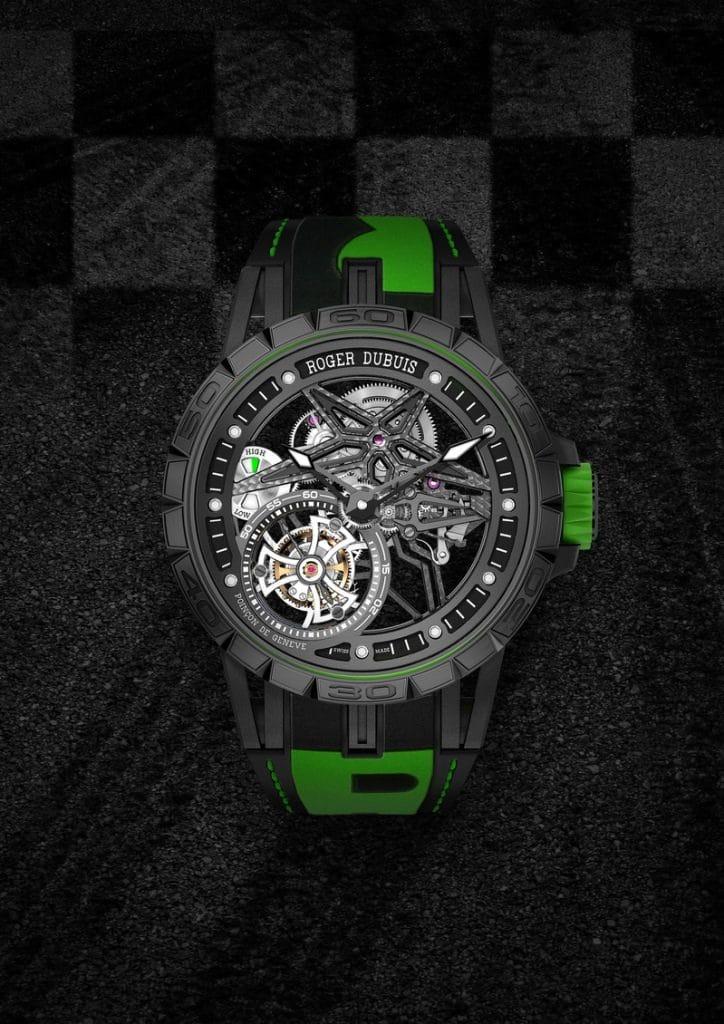 Roger Dubuis Excalibur Spider Pirelli PitStop Tourbillon volant