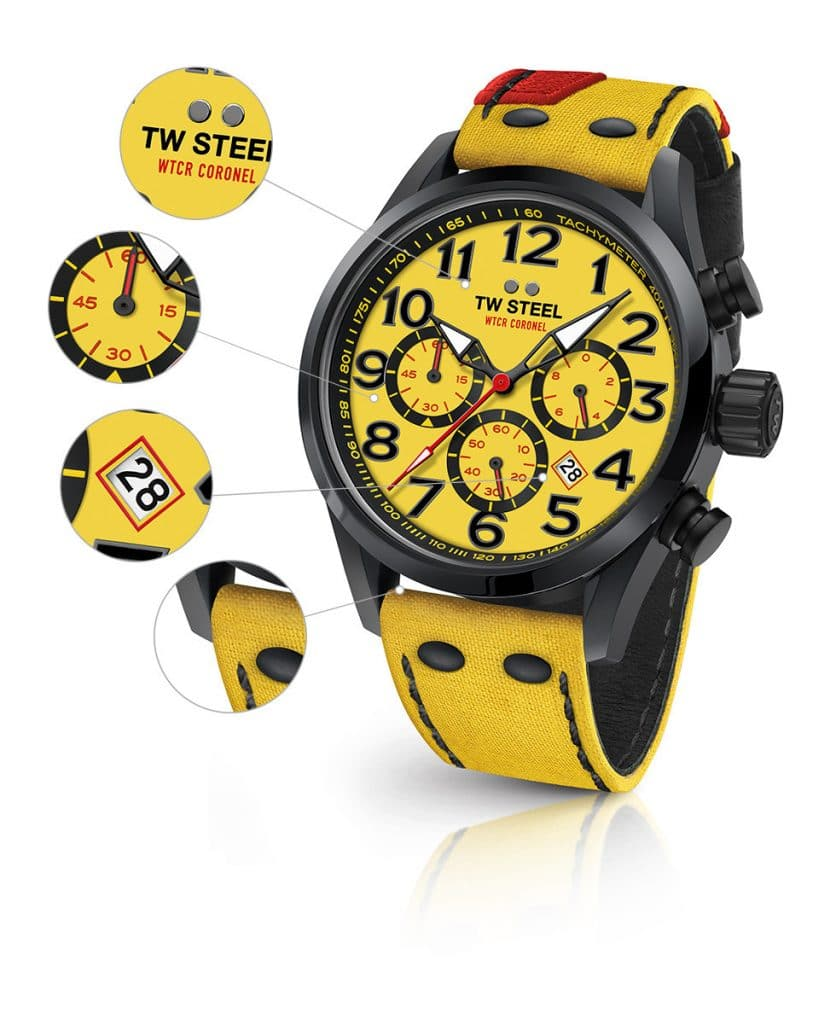 TW Steel TW979 WTCR Coronel Limited Edition