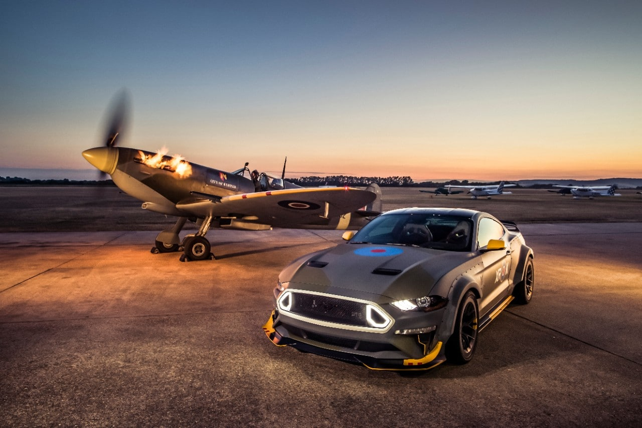 Ford Mustang GT Spitfire RAF100 Eagle Squadron FOS 2018