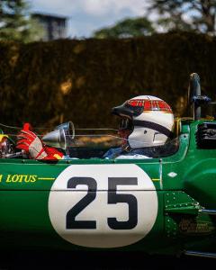 Jacky Stewart - Lotus 25 - FOS Goodwood 2018