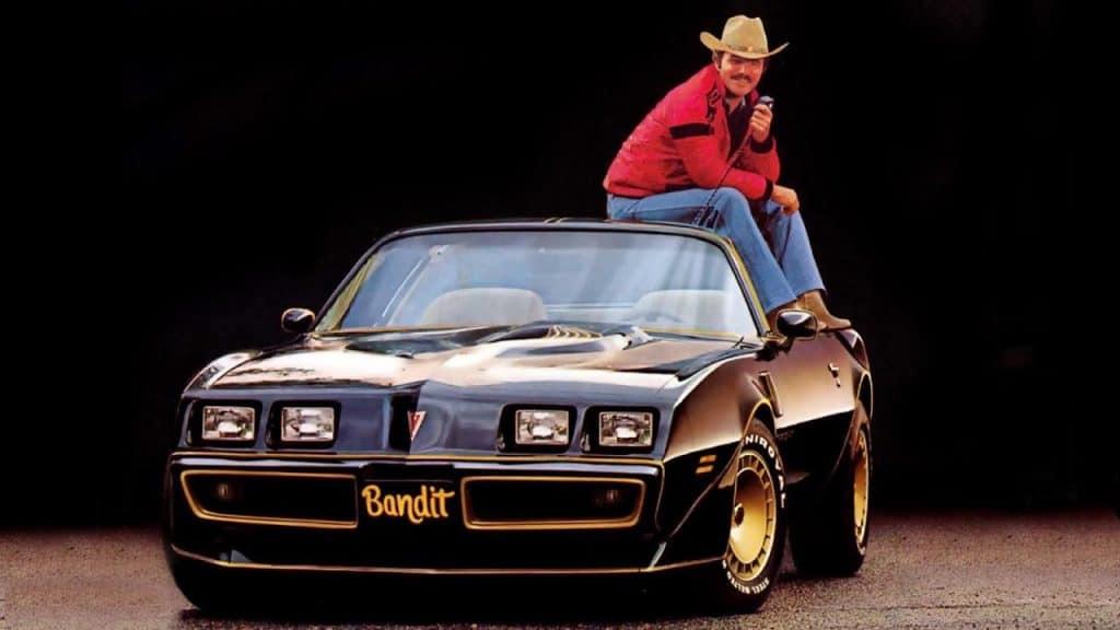 Pontiac Trans Am 1977 - film « Cours après moi shérif » (« Smokey and the bandit ») - Burt Reynolds