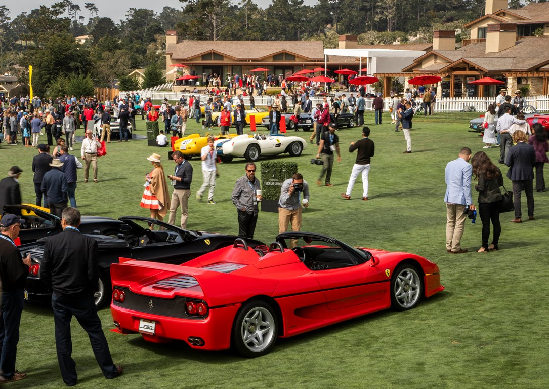 Ferrari Spider – Concours Pebble Beach 2018