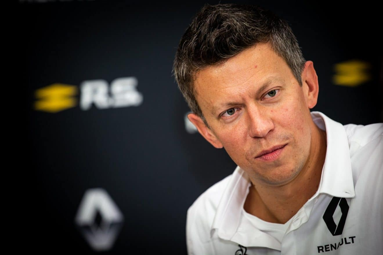 Renault Sport F1 – Enstone Renault Sport Formula One Team – Marcin Budkowski