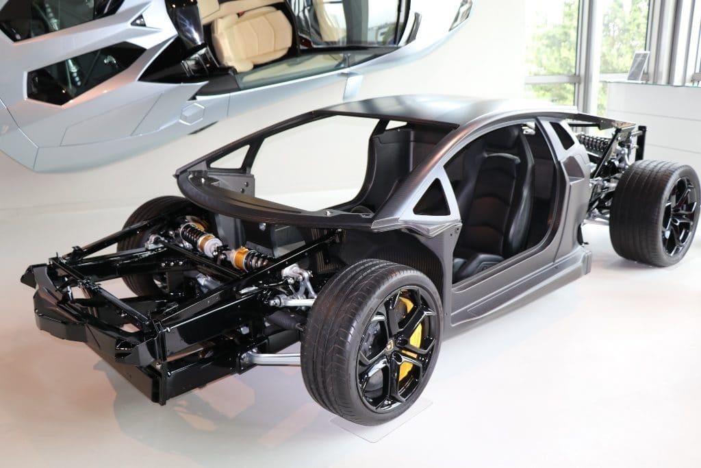 Lamborghini châssis carbone