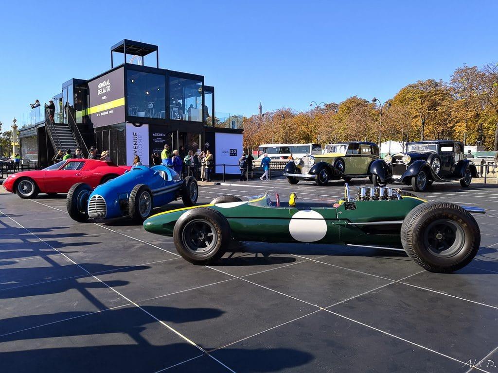 Mondial de l'Auto 2018 - Parade des 120 ans - Alex D.