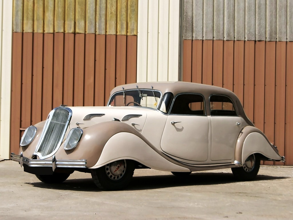 PANHARD ET LEVASSOR – X77 Dynamic 1938