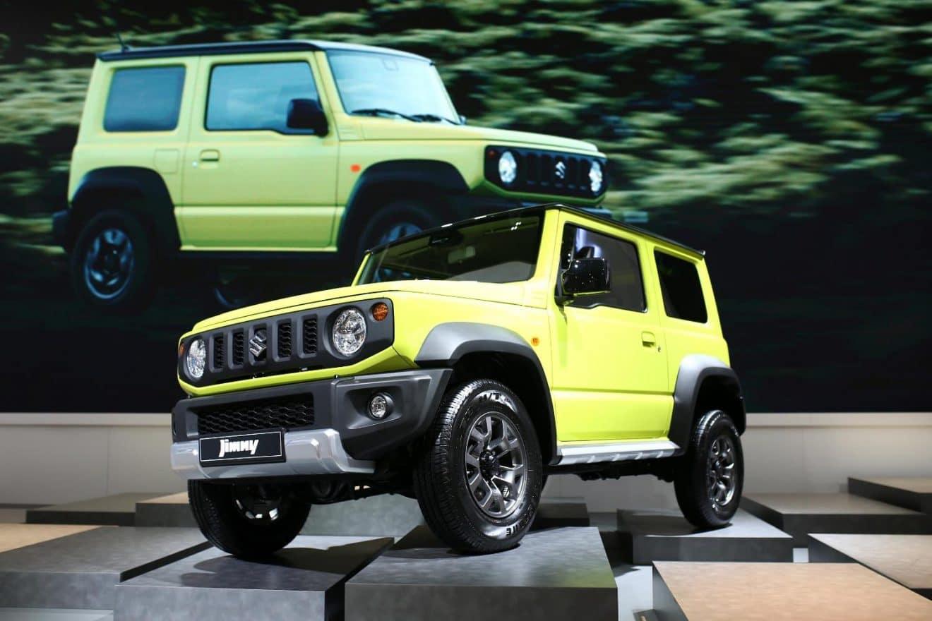 Mondial Auto Paris 2018 – Suzuki Jimny