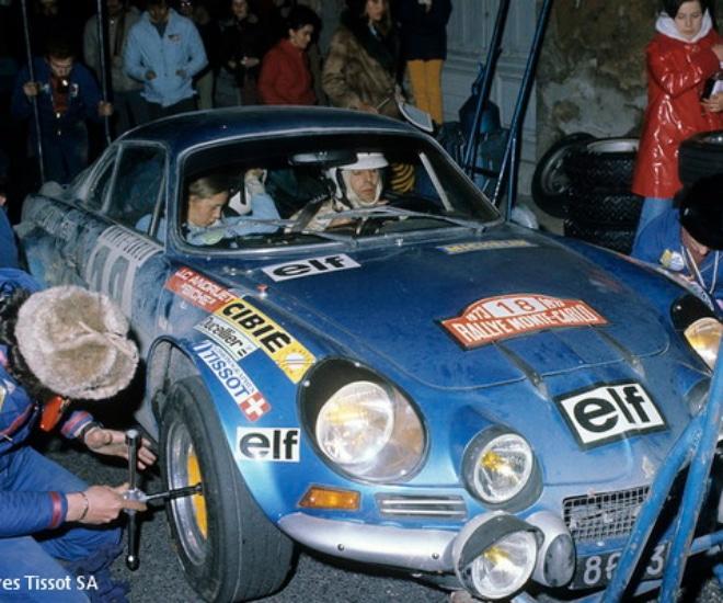 Alpine A110 Rallye Monte Carlo 1973 – Archives Tissot SA