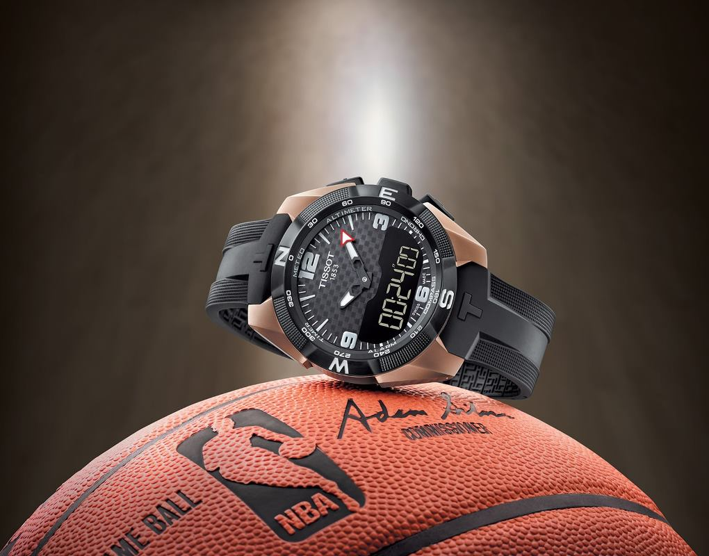 Tissot T-Touch Expert Solar NBA Special edition (ref. T091.420.47.207.00 )