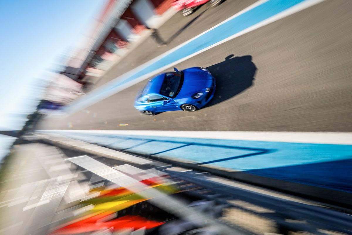 Alpine A110 (La Piste Bleue)