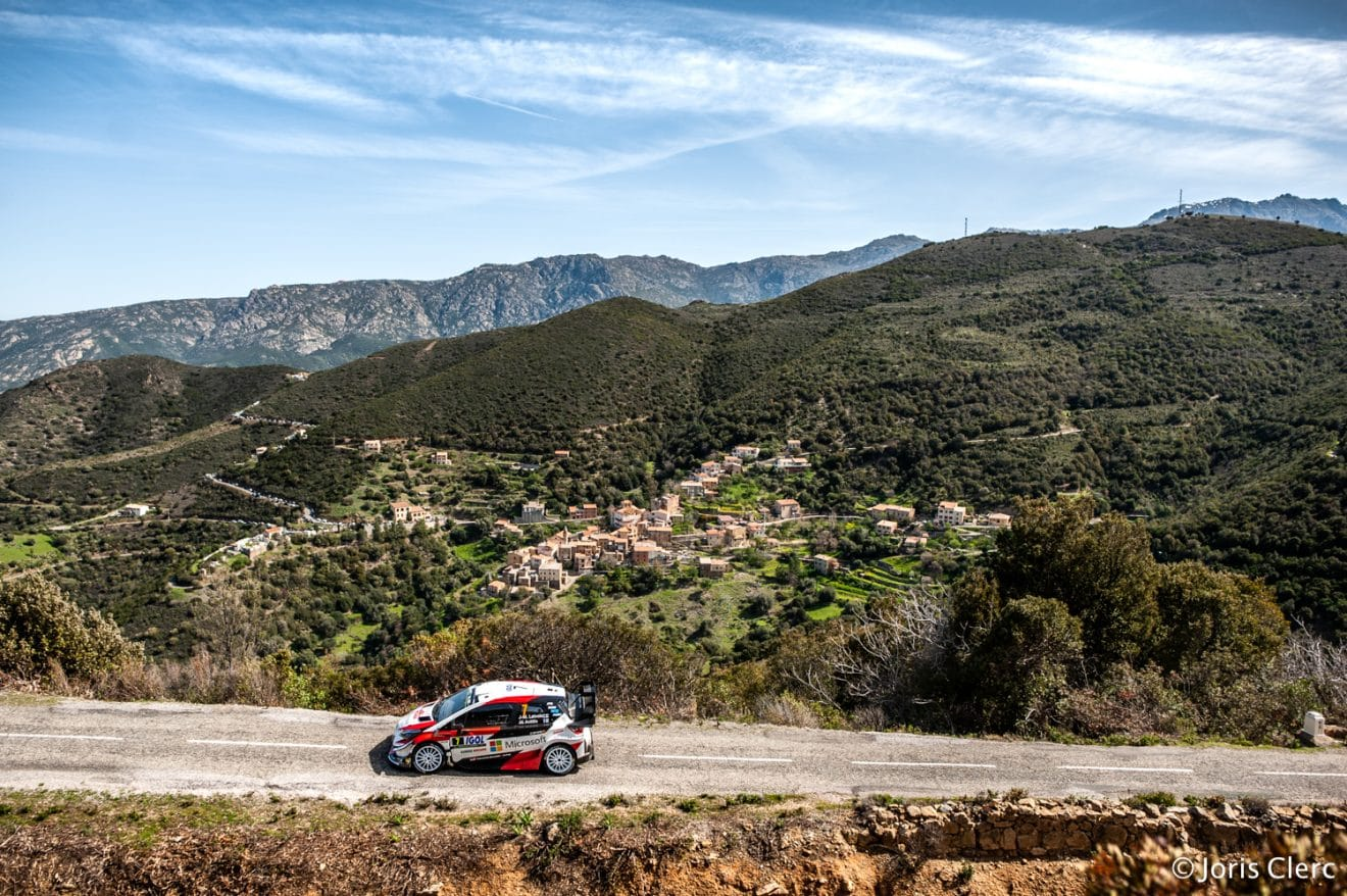 Toyota Yaris WRC – Tour de Corse 2018 – Joris Clerc ©