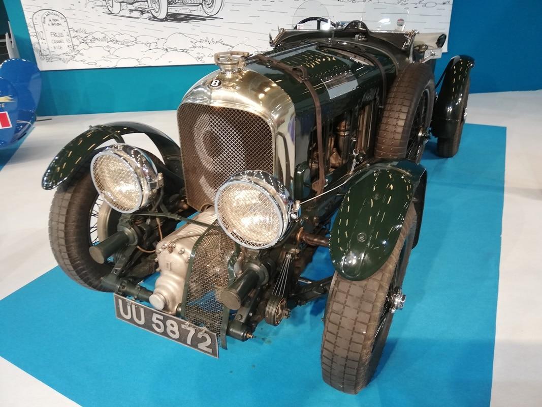 Bentley 4 1/2 L Supercharged 1929 (Mondial de l'Auto 2018)