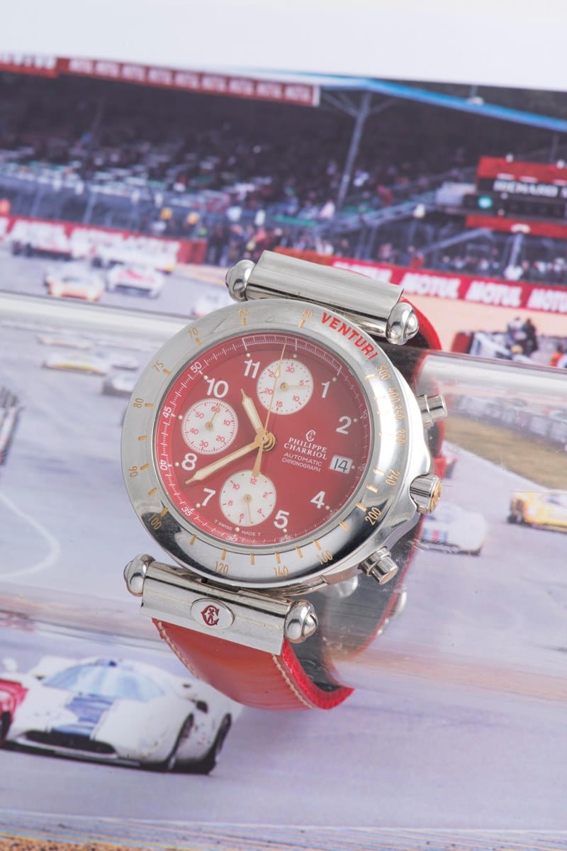 PHILIPPE CHARRIOL VENTURI AUTOMATIC CHRONOGRAPH EDITION LIMITEE 400 EXPLS