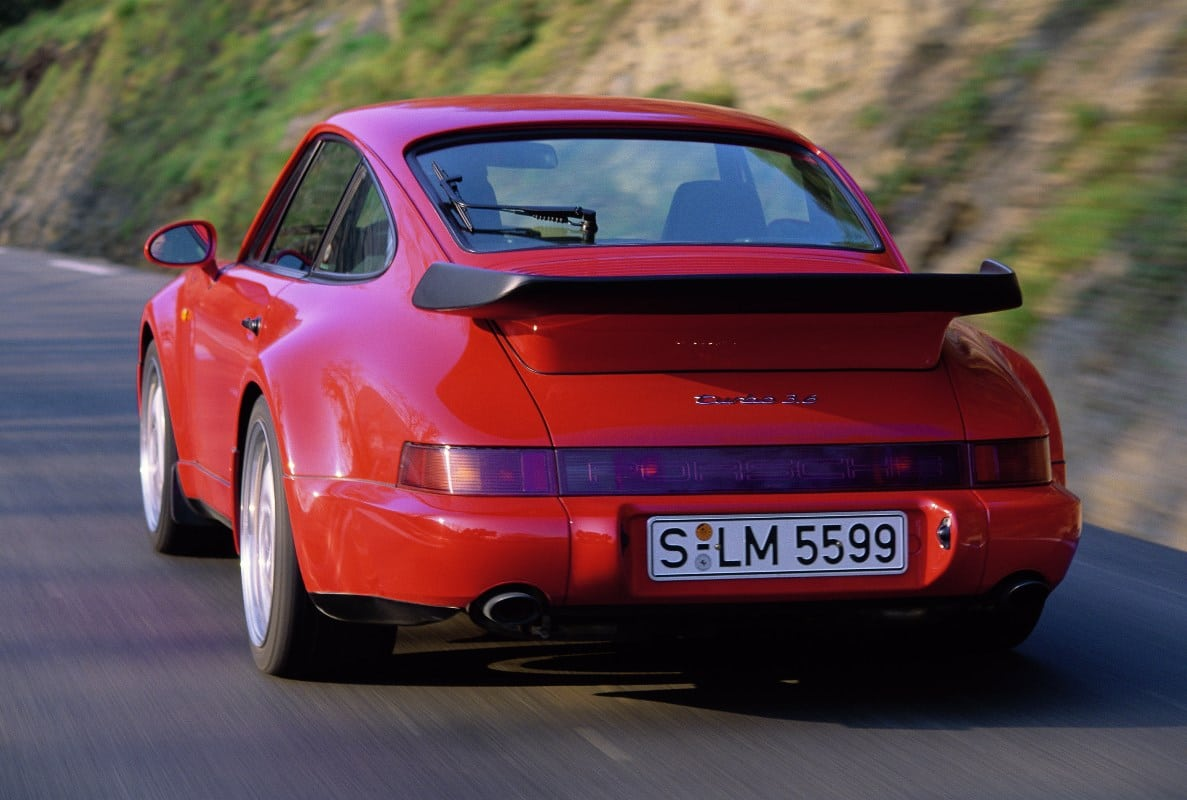 Porsche 911 Turbo 3.6L Type 964