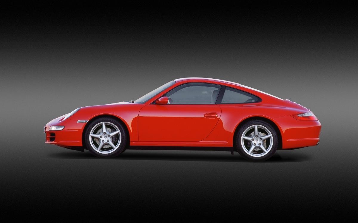 Porsche 911 Carrera 4, Type 997, 3,6 Liter (2006)