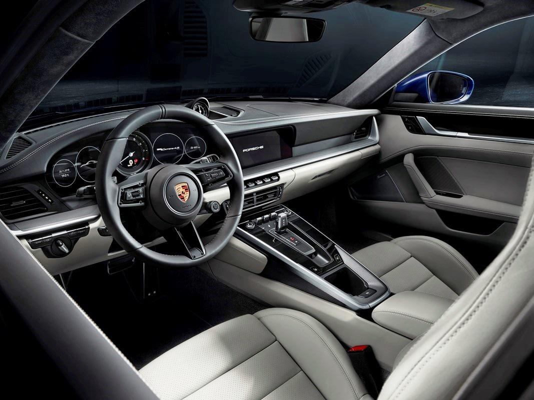 Porsche 911 type 992 (2018)