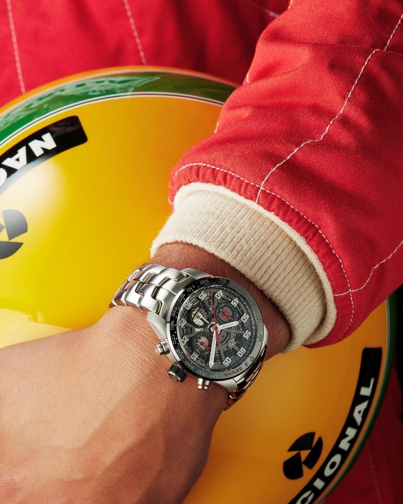 TAG Heuer Carrera Heuer 02 Edition Spéciale Ayrton Senna