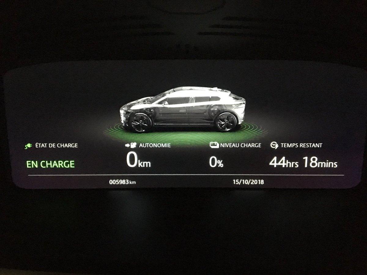 Jaguar I-Pace recharge