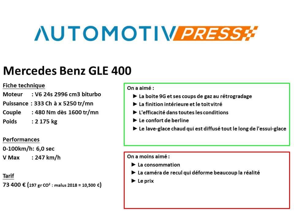 Mercedes-Benz GLE 400
