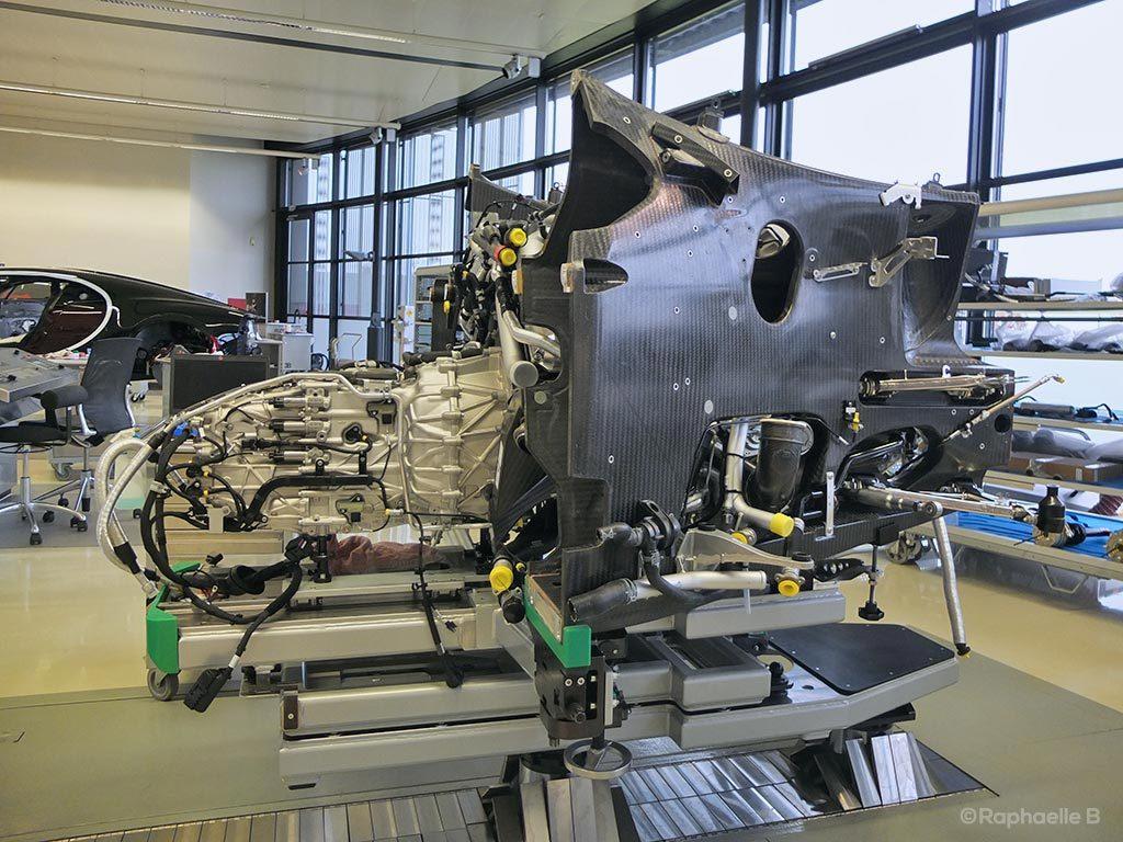 Visite atelier Bugatti à Molsheim