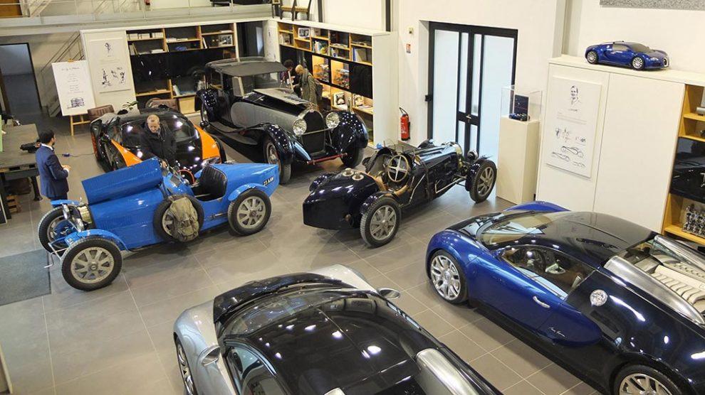 Visite remise Bugatti à Molsheim