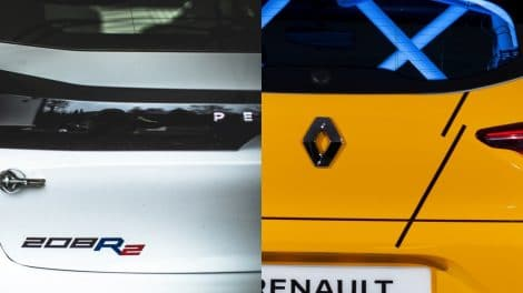 208R2 vs Clio RS Line Cup