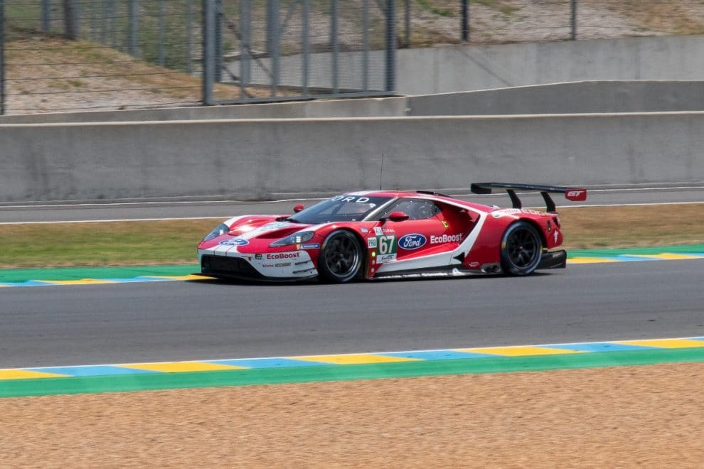 24 Heures du Mans 2019 - journée test - Ford GT n° 67 (LMP2)