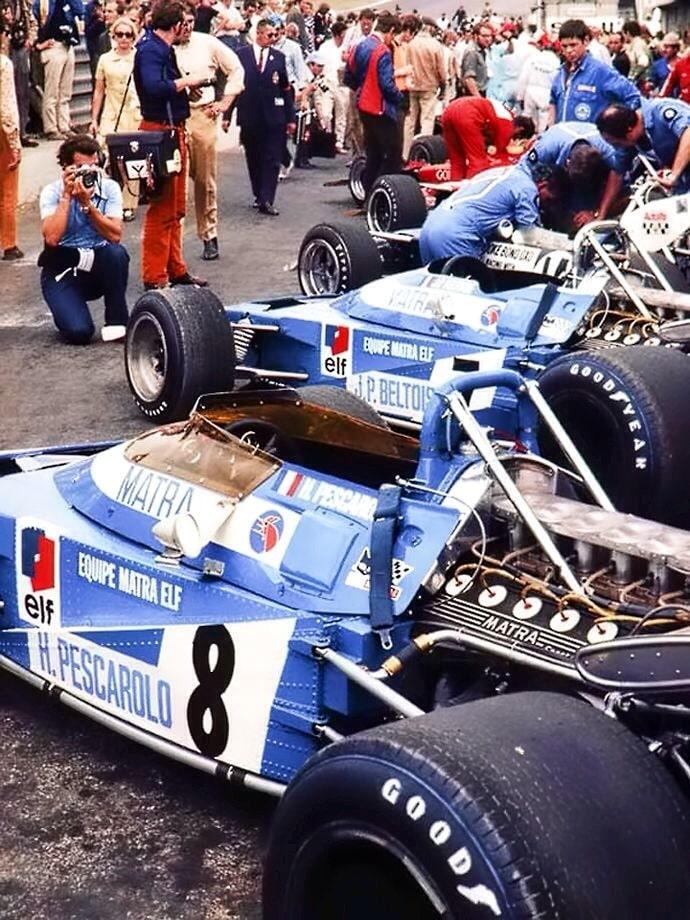 Écurie Matra, British Grand Prix 1970 Brands Hatch