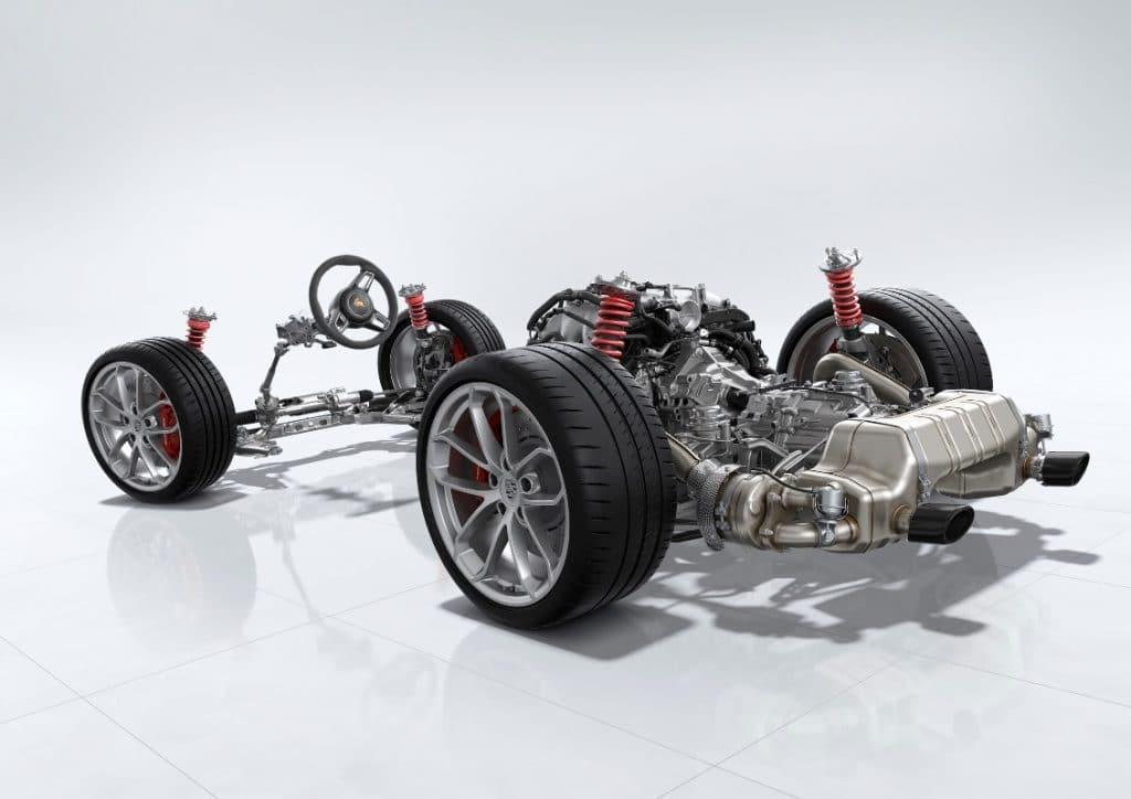 Porsche 718 Spyder et Cayman GT4