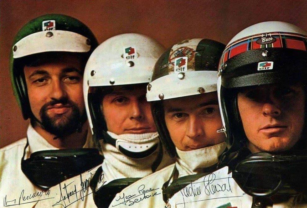 Écurie Matra - Henri Pescarolo - Jean-Pierre Beltoise - Johnny Servoz-Gavin - Jackie Stewart