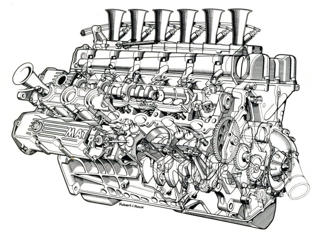 Matra MS V12 3.0L