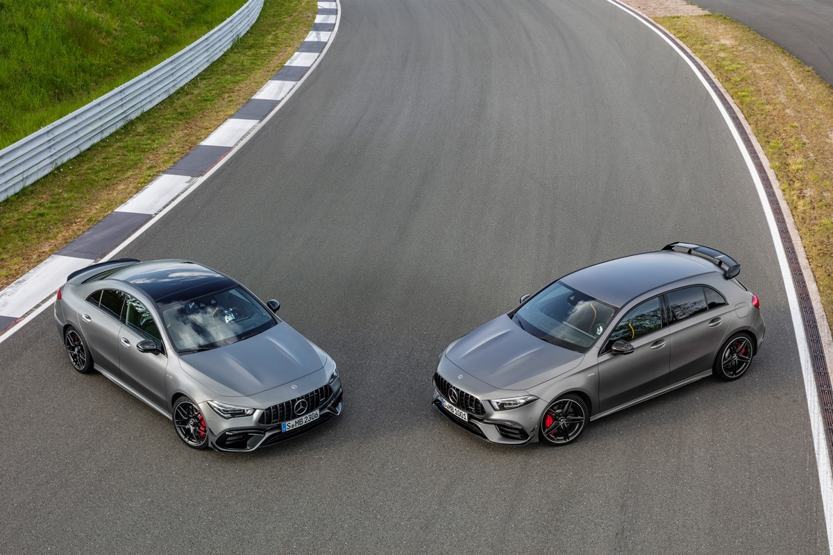 Mercedes-AMG A 45 S 4MATIC+ und CLA 45 S 4MATIC+ (2019)