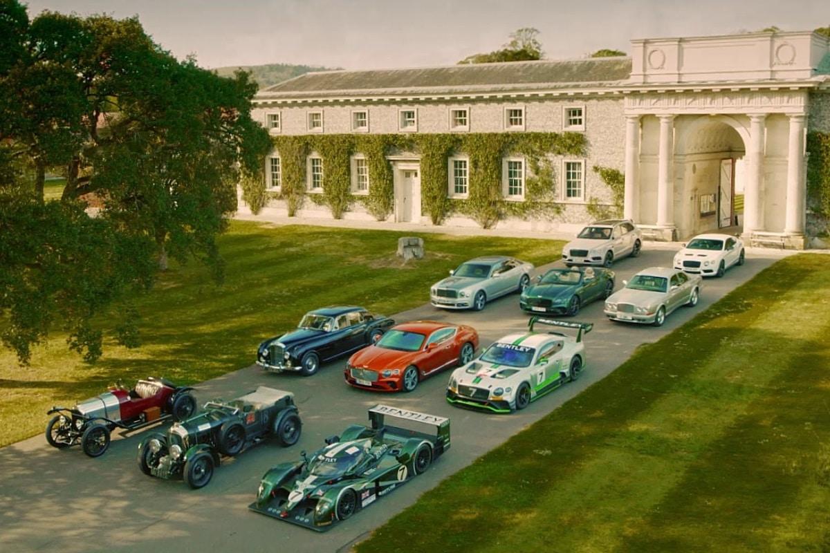 Goodwood FoS 2019 Bentley Family